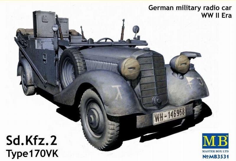 MASTERBOX 3531 - Sd.Kfz 2 type 170 VK - 1/35 Master22