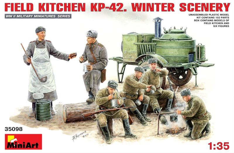 """MINIART 35061 """"Cuisine de campagne PK-42"""" - 1/35  Miniar14"""
