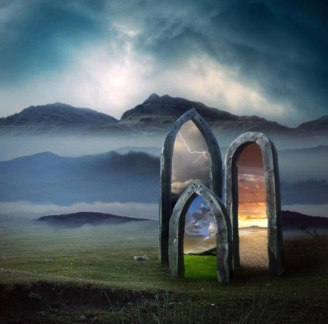 Portes d'autres Mondes 40047110
