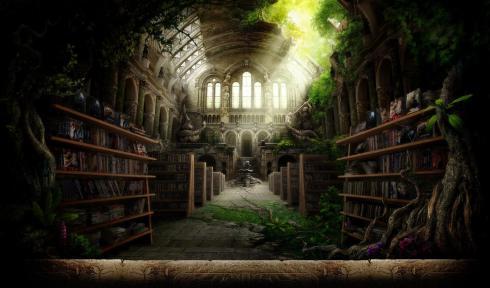 Bibliothèques et livres des songes Biblio10