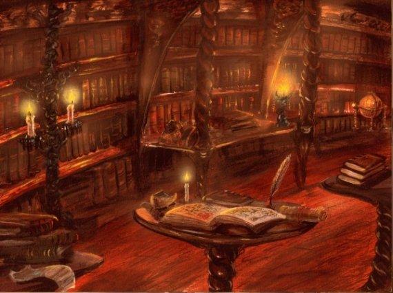 Bibliothèques et livres des songes - Page 2 Biblio15