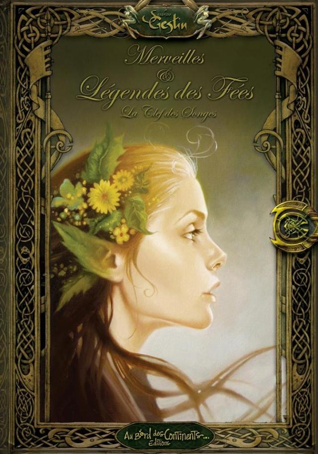 Merveilles et Légendes, La clef des Songes de Sandrine Gestin Couver10