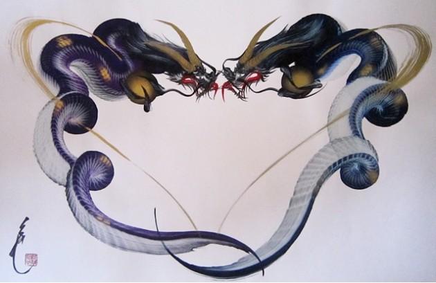 Kousyuuya, Artiste Peintre Japonais Dragoe10