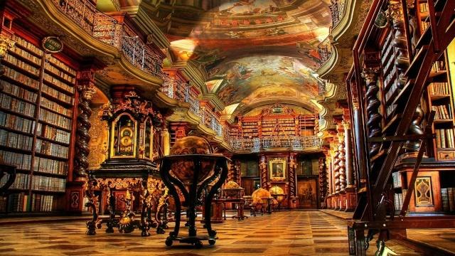 Bibliothèques et livres des songes Librar10