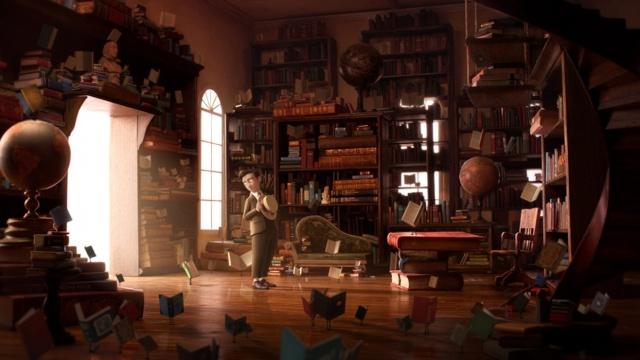 Bibliothèques et livres des songes Librar11