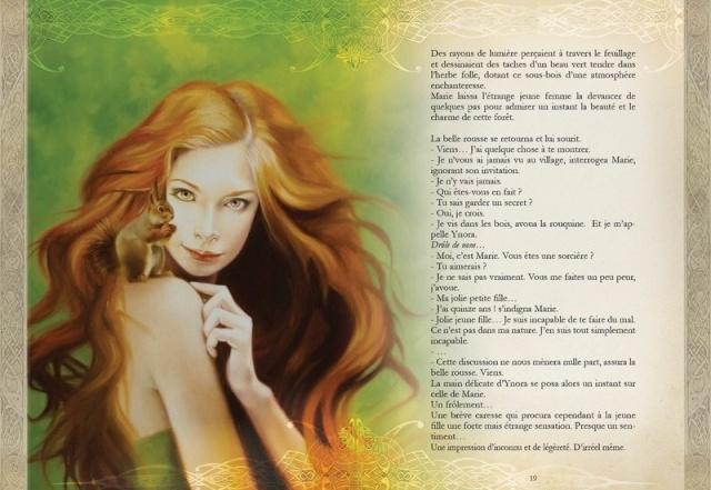 Merveilles et Légendes, La clef des Songes de Sandrine Gestin Mervei10
