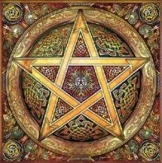 Le Rede wiccan (la Loi wiccane) Pentac10