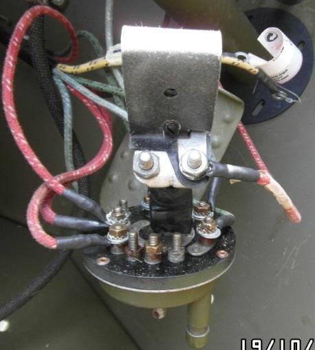 Interrupteur principal d'éclairage rotatif. Branch10