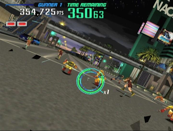 TEST : GUNBLADE NY / L.A. MACHINEGUNS de Sega sur Wii 38502010