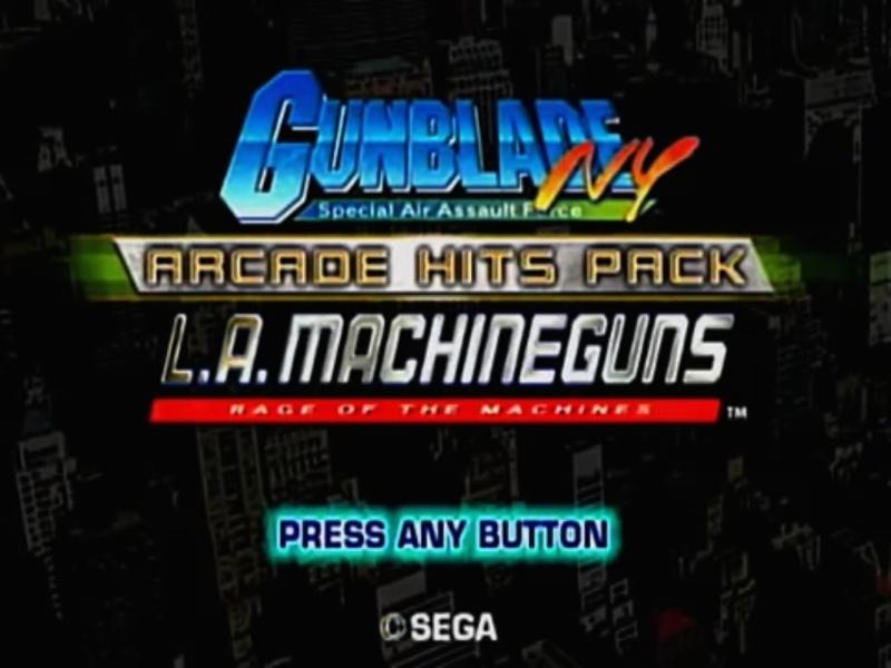 TEST : GUNBLADE NY / L.A. MACHINEGUNS de Sega sur Wii Acran_10
