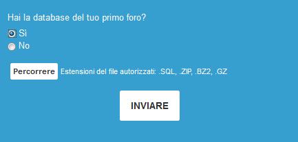 Come importare il tuo forum su Forumattivo Inviar10