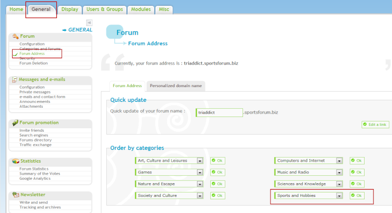 FIFA WORLD CUP: Customize your domain name for your forum Pa11