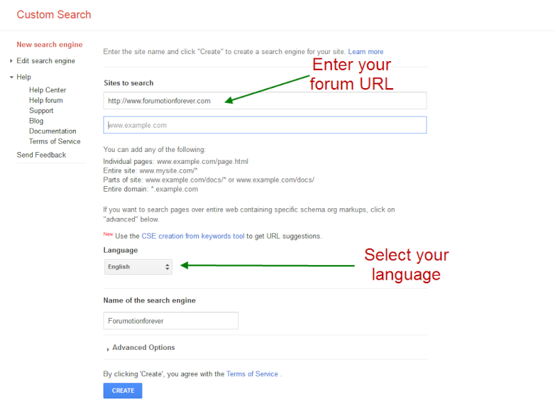 Add a Google search Toolbar on your forum Home Page Set_up11