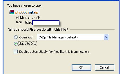 How to import your external forum on Forumotion? Zip10