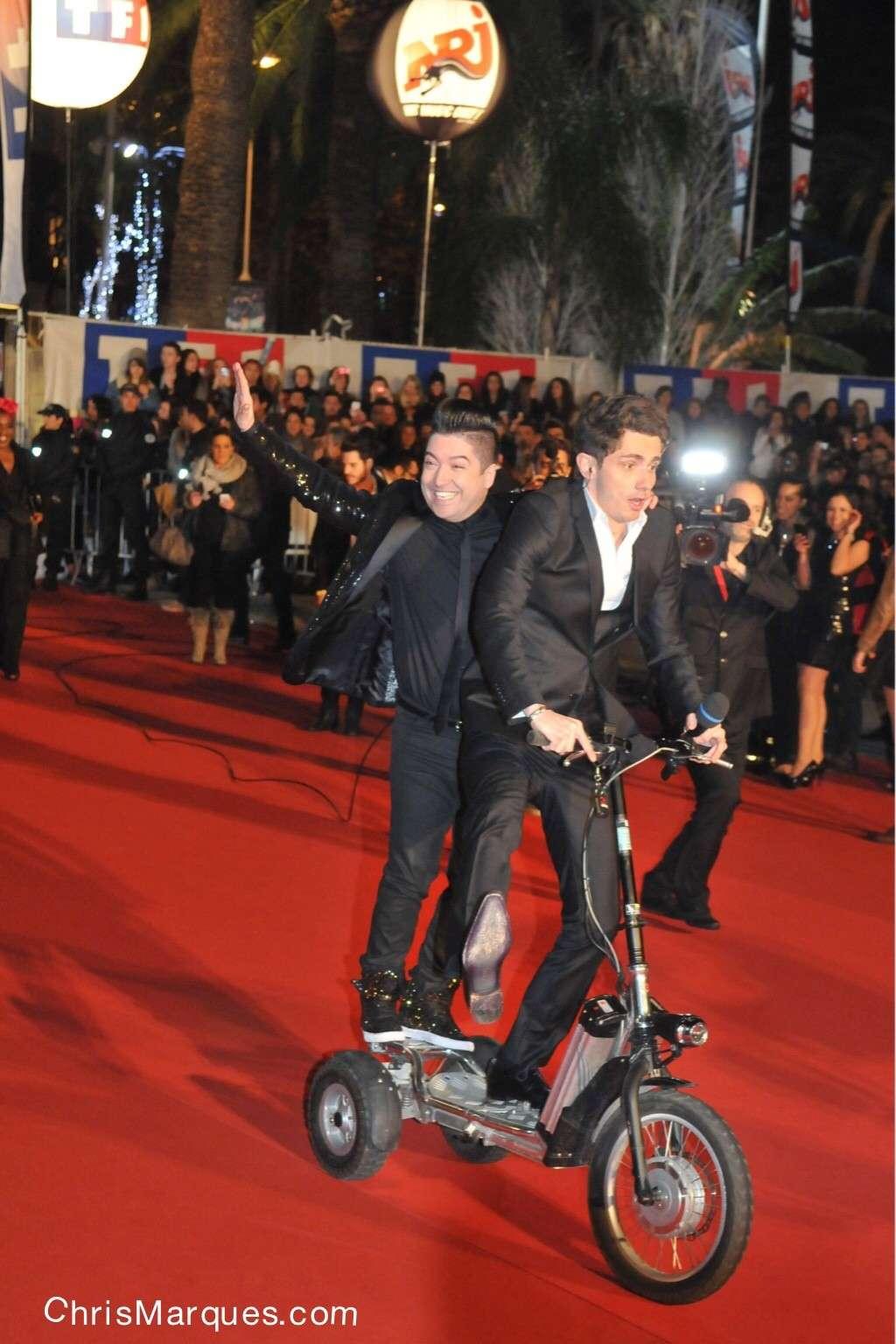 NEWS PICS Chris Marques et Jaclyn Spencer à la 15TH Édition des NRJ Music Awards Image-10