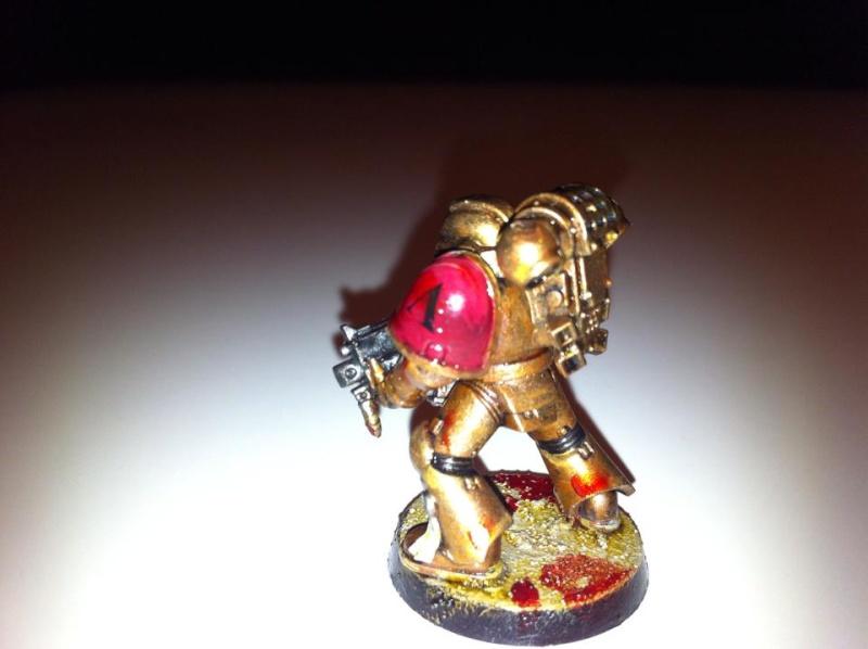 first space marines, le chapitre des son's of leonidas 10155710