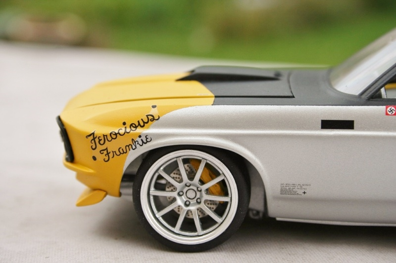 """'70 Ford Mustang Mach1 2'n1 """"Ferocious Frankie"""" (Revell) [Terminé] - Page 9 0210"""