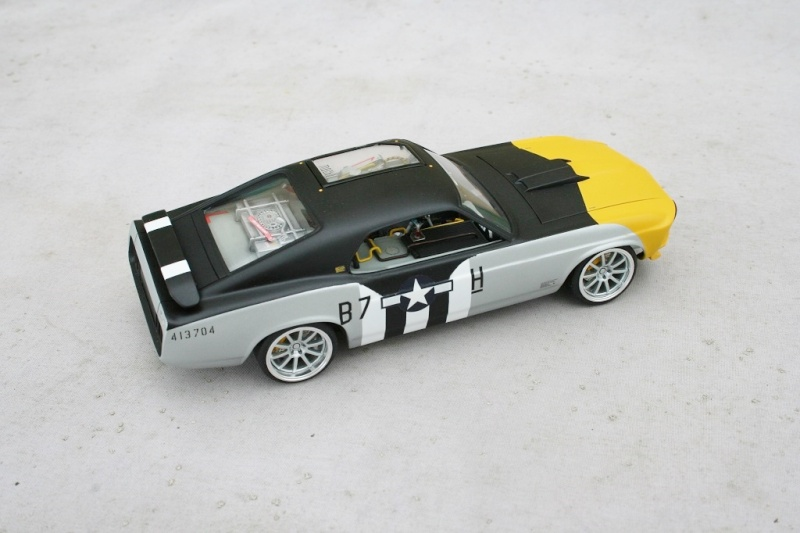 """'70 Ford Mustang Mach1 2'n1 """"Ferocious Frankie"""" (Revell) [Terminé] - Page 9 0310"""