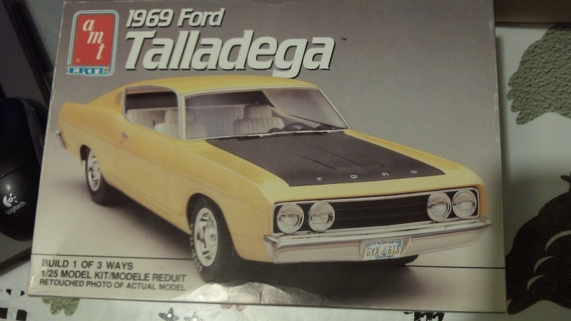 "'69 Ford Torino Talladega ""the Shy Champion"" (AMT) [STANDBY] 108_1113"