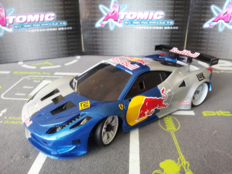 Nouvelle venue F458 Red bull 20140511