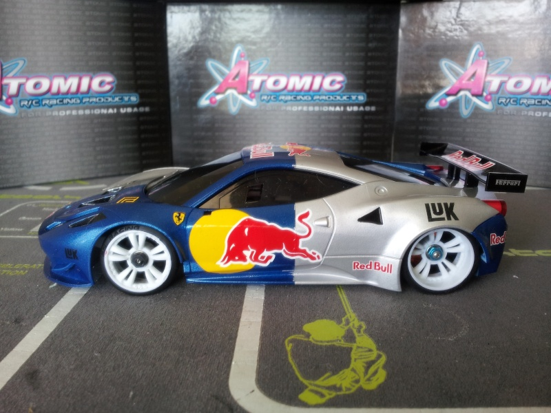 Nouvelle venue F458 Red bull 20140512