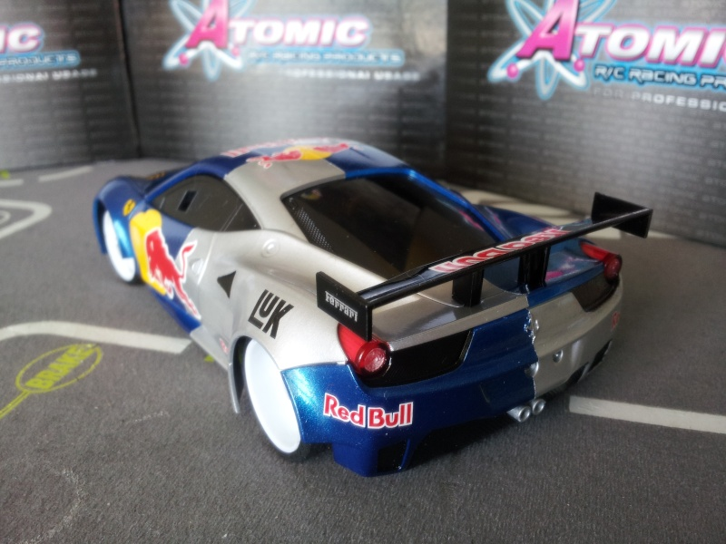 Nouvelle venue F458 Red bull 20140513