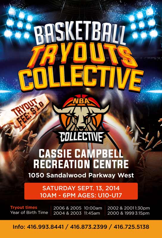 Collective Basketball Tryouts (U10 - U17) Tryout10