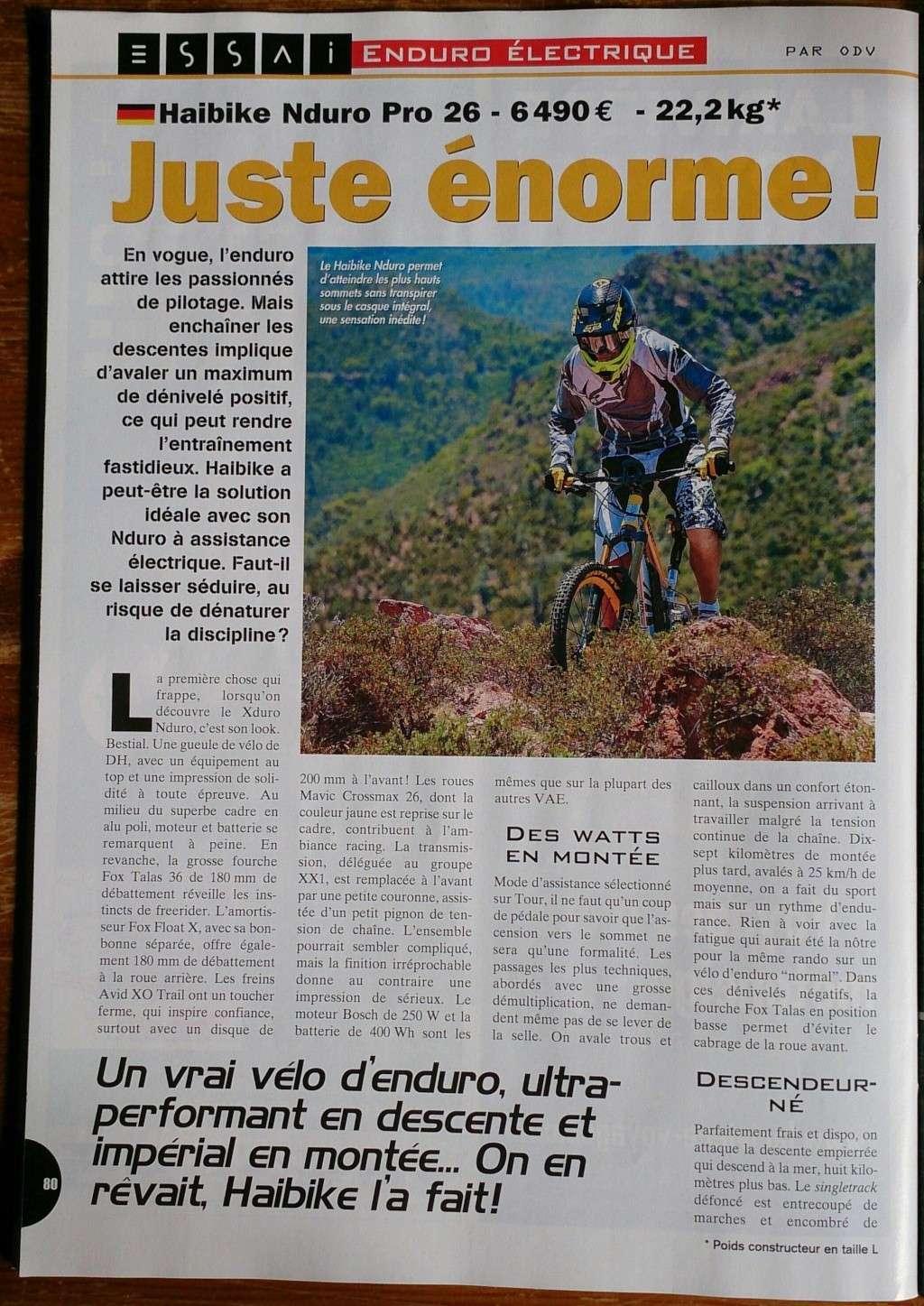 [Luidji76] Mon nouveau bike: VAE Haibike XDURO NDURO RX 26 - Page 2 Dsc_0110