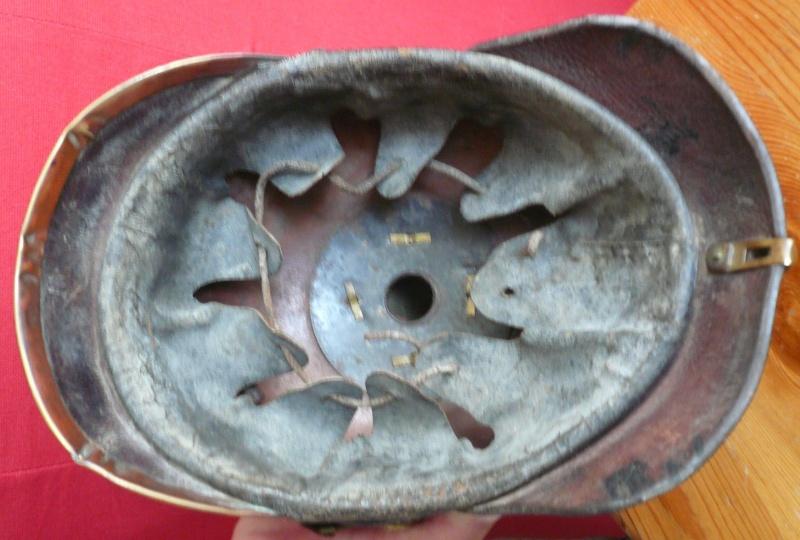 Casque à Pointe - mdl 1895  - Réserviste Bavarois P1030960