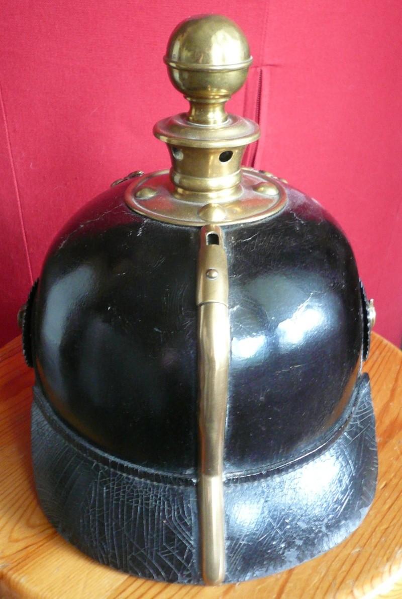 Casque à Boule Prussien (Artillerie) - mdl 1895 P1030968