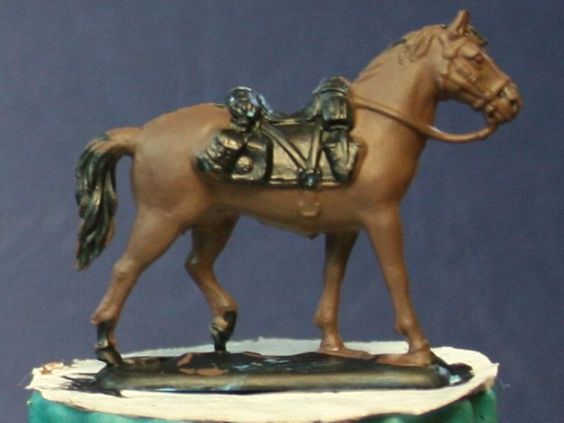 Fellschattierung eines Pferdes auf einfache Art Dubrbl10