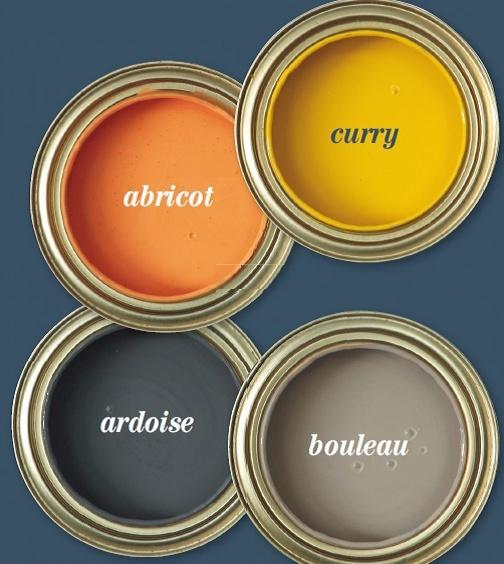 Correspondance couleurs abricot/ardoise/bouleau la Seigneurie et déco de mon salon Salon_16