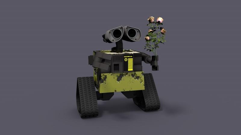 Eve , la copine de Wall-E Wall-e13