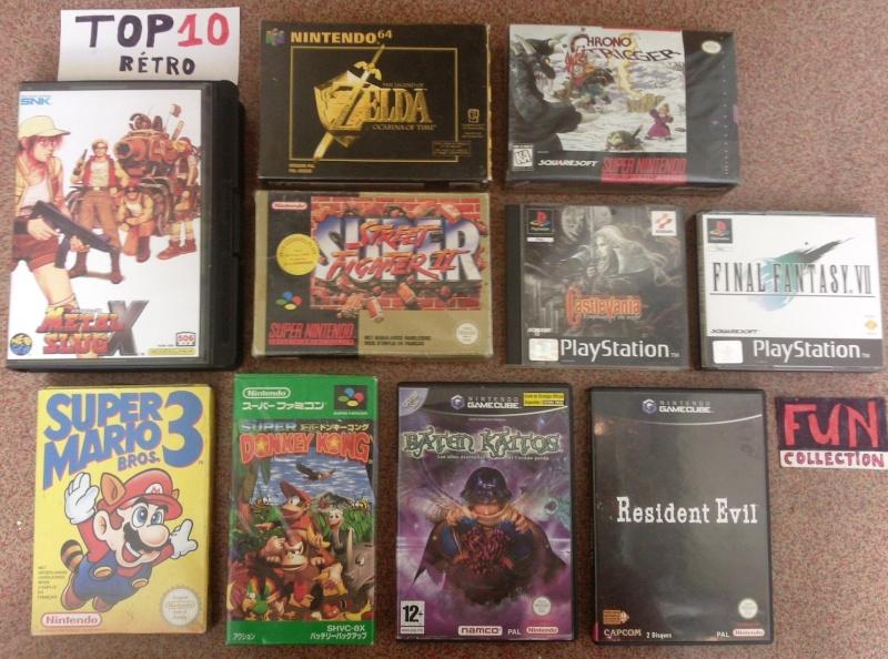 Votre top 10 de jeux préférés toute console et toute génération confondue. Fun_to10