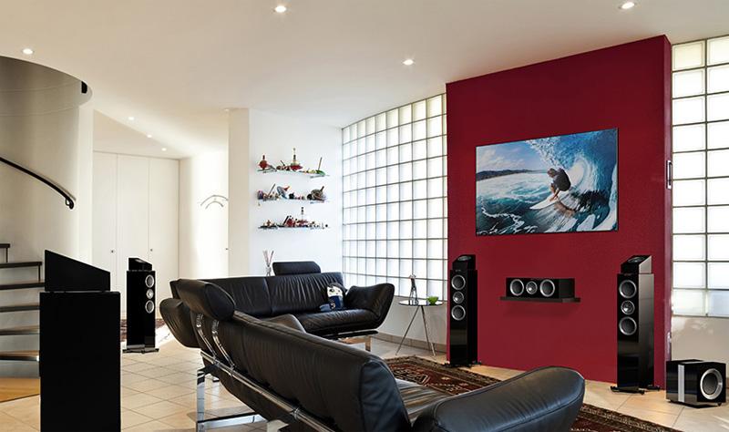 Votre Coin Jeux / Votre Installation Home Cinéma... - Page 5 Kef-r511