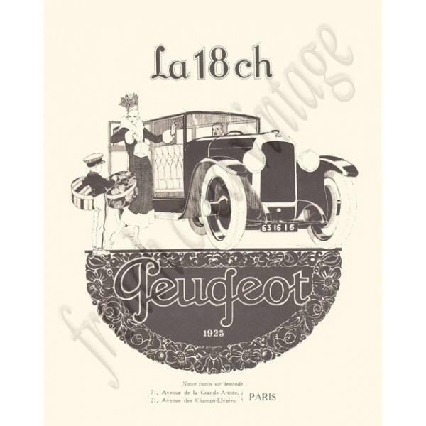 PUB Peugeot  d'époque 10888910