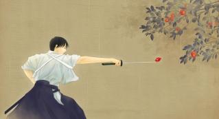 La voilà, Shimotsuki, la contrée de l'épée! 70_rie11