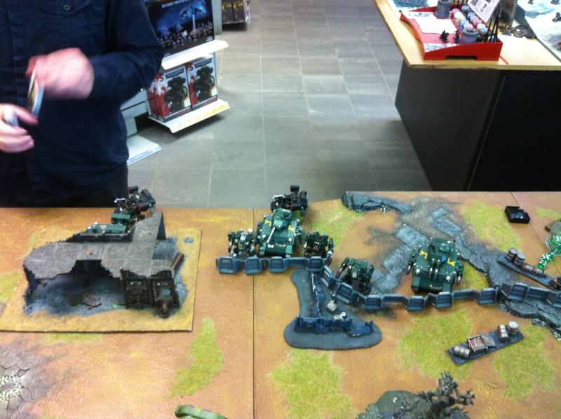 DE Sliscus Cult vs Iron Hands Armour Wall! Deploy10