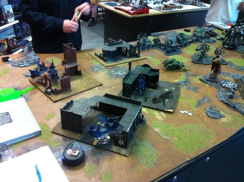 DE Sliscus Cult vs Iron Hands Armour Wall! Deploy11