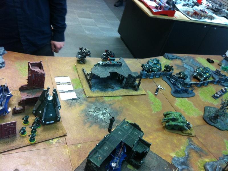DE Sliscus Cult vs Iron Hands Armour Wall! Img_4210