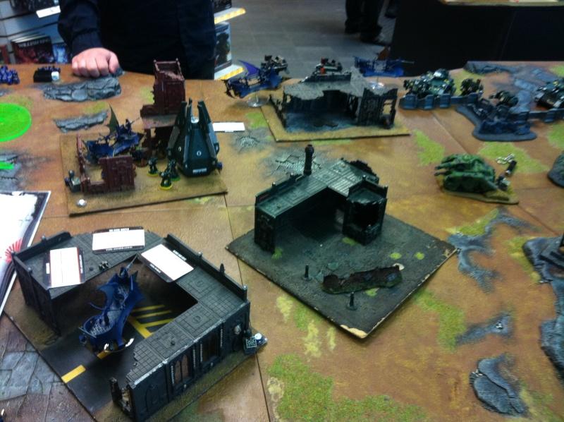 DE Sliscus Cult vs Iron Hands Armour Wall! Img_4211