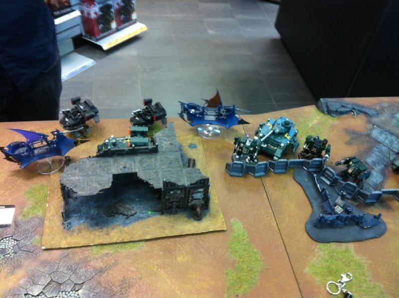 DE Sliscus Cult vs Iron Hands Armour Wall! Img_4212