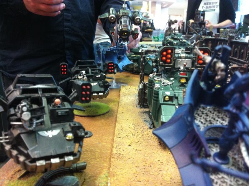 DE Sliscus Cult vs Iron Hands Armour Wall! Img_4214