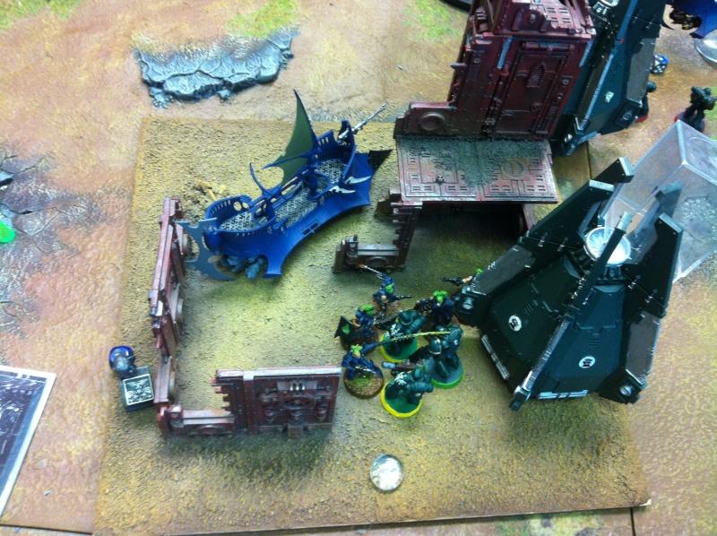 DE Sliscus Cult vs Iron Hands Armour Wall! Img_4217
