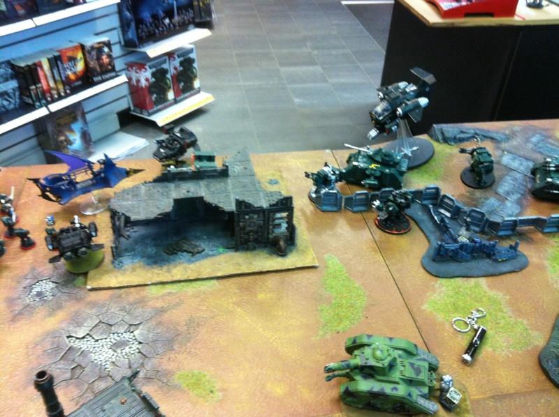 DE Sliscus Cult vs Iron Hands Armour Wall! Img_4218