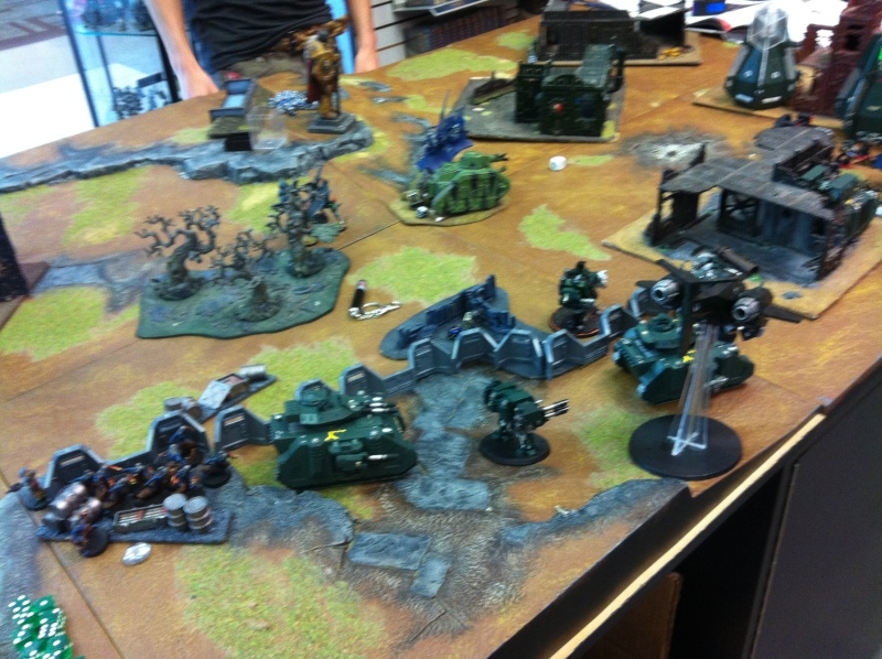 DE Sliscus Cult vs Iron Hands Armour Wall! Img_4220