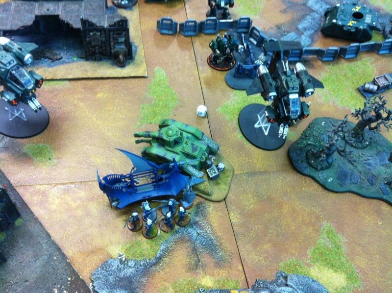 DE Sliscus Cult vs Iron Hands Armour Wall! Img_4221