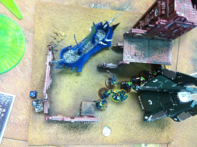 DE Sliscus Cult vs Iron Hands Armour Wall! Img_4223