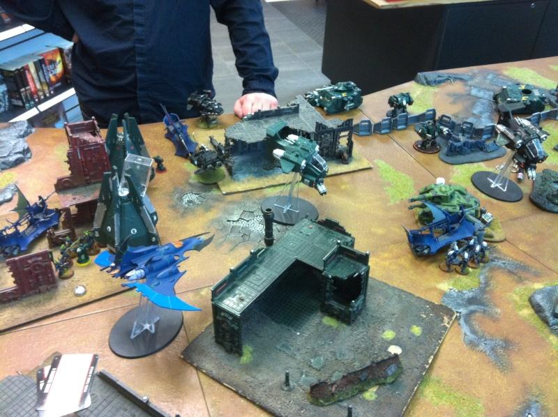 DE Sliscus Cult vs Iron Hands Armour Wall! Img_4224