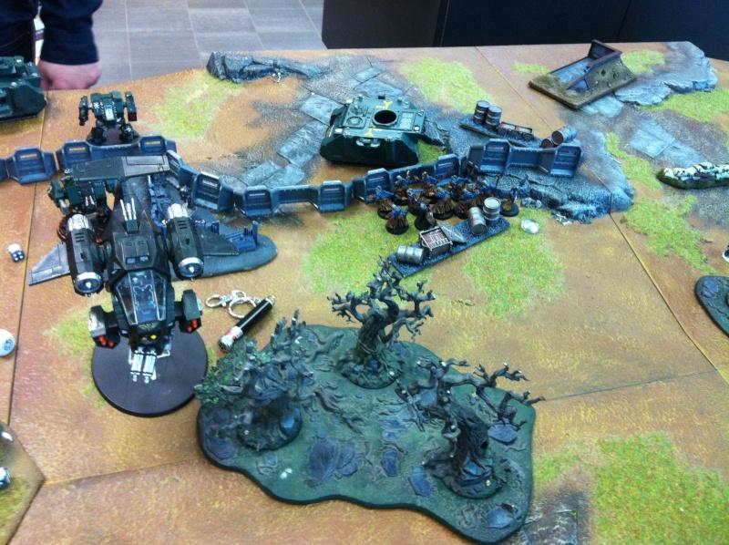 DE Sliscus Cult vs Iron Hands Armour Wall! Img_4225